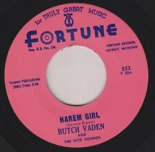"BUTCH VADEN Harem Girl FORTUNE New Repro 7"" 1963 Wild Hip Shakin Organ R&B HEAR"