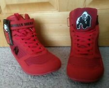 GORILLA WEAR HIGH TOP SHOES (men's size 7; women's 8-1/2)