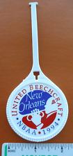 1994 New Orleans Aviation Meeting NBAA Memorabilia United Beechcraft Luggage Tag