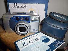 Scarce JENOPTIK JENCOMPACT JC 43 with fixed BIOTAR AF ZOOM 38-145mm Lens