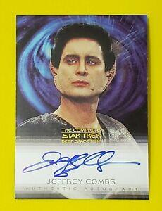 2003 Star Trek The Complete Deep Space Nine Autograph Jeffrey Combs as Weyoun