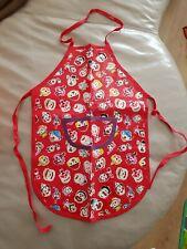 Children Kids Chef Apron painting Arts Crafts Baking Cooking Clown Print