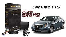 Flashlogic Remote Start for 2008 Cadillac CTS Sedan V6 w/Plug & Play Harness