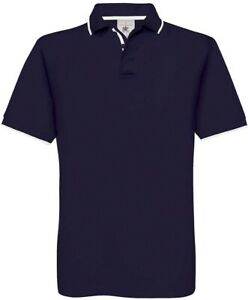 B&C Herren Piqué-Poloshirt Kurzarm S M L XL 2XL, 3 Farben - 01.0413