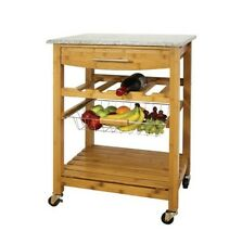 Kitchen Island No Assembly Required wood no assembly required kitchen islands & carts | ebay