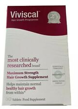 VIVISCAL HAIR GROWTH PROGRAMME  maximum strength Hair Growth Supplement 60 Tabs