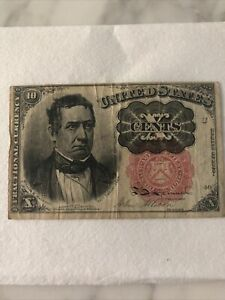 10 Cents Fractional Currency Note 5th Issue