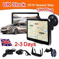 "5""Inch Car GPS Navigation System SAT NAV Touch Screen 8GB EU UK Free Maps 2016"