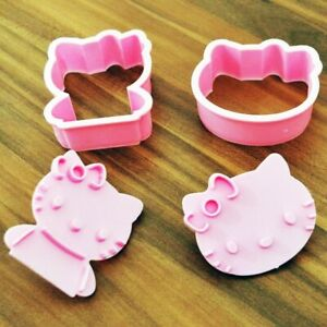 Hello Kitty cookie Mould cutter baking stencil accessory birthday cake
