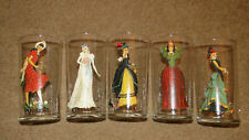 New Listing5 Vintage 1940's Peek A Boo Bar Drinking Glasses - Very Good Condition