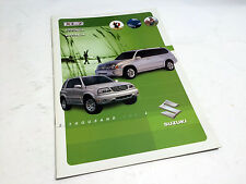 2004 Suzuki XL-7 Grand Vitara & Vitara Brochure
