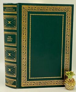 ICL THE THORN BIRDS Colleen McCullough Collector's LIMITED Edition 24K GOLD RARE