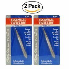 Sally Hansen PREMIER Essential Tweezers Point Tip (Pack of 2)