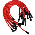 HEI Spark Plug Wires Set 90 to Straight For Chevy SBC BBC 350 383 400 454 V8