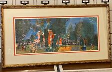 """1970 Vintage RAOUL DUFY /""""THRESHING/"""" COLOR offset Lithograph"""