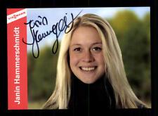 Janin Hammerschmidt Autogrammkarte Original Signiert Biathlon+ A 56270 + A 68570