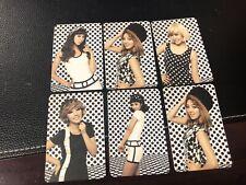 Korean Kpop SNSD GIRLS GENERATION HOOT Fanmade Photocard Set