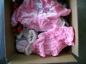Build A Bear Clothes Large priority box with 60 pc