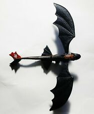 "Dragons: Defenders of Berk Spinning Tail Toothless 15.5"" Action Figure How Train"