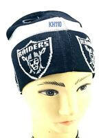 NFL Oakland Raiders Repeated Logo Knit Beanie