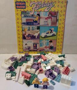 Mega Bloks Ritvik 1994 Fantasy Dream Home House spares and instructions