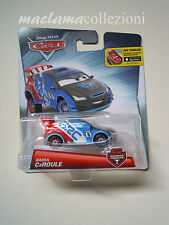 Disney pixar cars RAOUL CAROULE carbon racers novità raro mattel 1:55 maclama