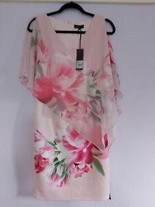 Debut by Debenhams dress size 10, Summer weddings, Christenings, pink floral