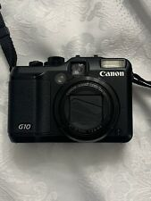 Canon G10 14.7MP Compact Digital Camera with Battery Charger  - USED