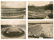 4 original photographs Berlin Olympic 1936 Stadium, Waldbühne Anphitheater A434