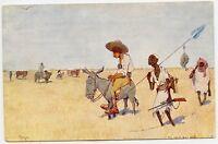 Africa Hunting Vintage Postcard
