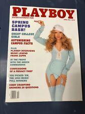 Playboy Magazine April 1993 Spring Campus Bash