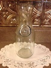 Milk Bottle Wine Carafe Pinterest Craft Vase Mantle Decor Christmas Holiday Gift