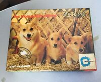 VINTAGE # 1979 NATHAN PUZZLE  60 PCS DOG DOGS NIB
