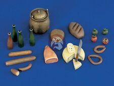 Verlinden 120mm (1/16) Groceries, Food and Drink Supplies [Resin Diorama] 1034