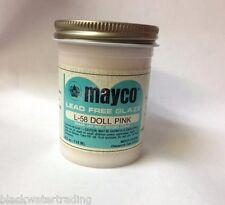 Mayco Brush-On Ceramic Glaze Vintage 4 Oz. L-58 Doll Pink Matt Semi-opaque