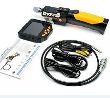 "3.5""8.2mm 4Xzoom 360° Rotation Tube Snake 3M Camera TF Card Endoscope Inspection"