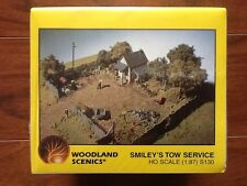 Woodland Scenics 1/87 HO Scale Smiley's Tow Service Scene Model Kit # S130 F/S