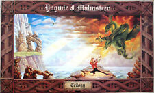 Yngwie J. Malmsteen/Trilogy/ Rare Music Art Lithograph