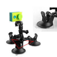 Solid Car Suction Cup Mount Camera Stand for Hero 4 3+3 Xiaomi Yi Action SJ4000