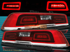 LED RED Tail Lights Pair For 2014-2015 Chevy Camaro