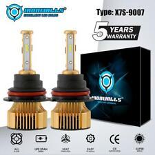 9007 HB5 2500W 375000LM LED Headlight Kit HI-LO Dual Beam Bulbs 6000K Xenon HID
