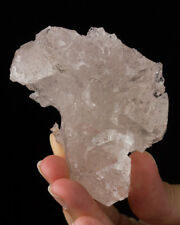 "3"" 787ct Etched GOSHENITE Crystal Intricate 3Dimensional Surface Brazil for sale"