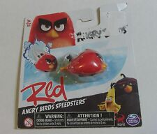 ANGRY BIRDS RED BIRD Rovio Angry Bird SPEEDSTERS FIGURE Bird Car BRAND NEW