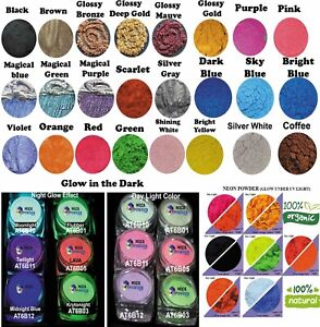 Peal Powder-Glow in the dark-Color Shifting Powder-Glitter-Shipped from SYDNEY