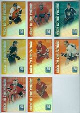 1997-98 Donruss Elite Back to the Future Full Set of 8 Insert Cards #/1500 Nmm