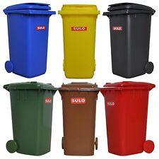 Lot de 6 Mini containers type SULO 120/240 L pot à crayons vide poche jouet
