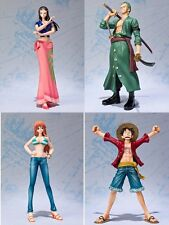 One Piece PVC Action Figure Luffy Zoro Robin Nami Without Box PVC 16cm