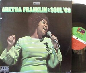 ARETHA FRANKLIN - Soul 69 ~ VINYL LP US PRESS