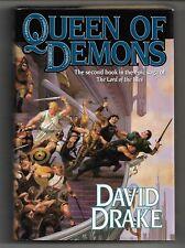 Queen of Demons, Lord of the Isles bk 2, David Drake, Tor HC/DJ, 1st prt 1st edt
