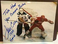 JIM CRAIG SIGNED AUTOGRAPHED 8x10 PHOTO UNIQUE INSCRIPTION USA OLYMPICS HOCKEY